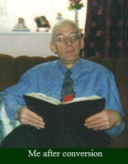 Picture of Tony Cottam after he became Christian.